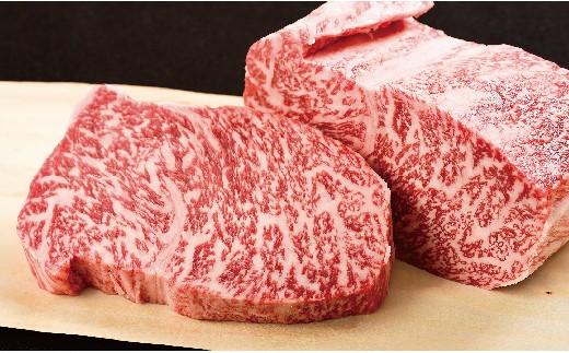 K538 長崎和牛ロース肉ステーキ(2枚)【1,200pt】
