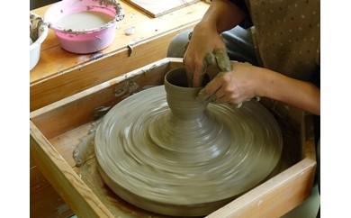 【陶芸体験】電動ロクロで作る湯のみ茶碗2個または小皿2枚