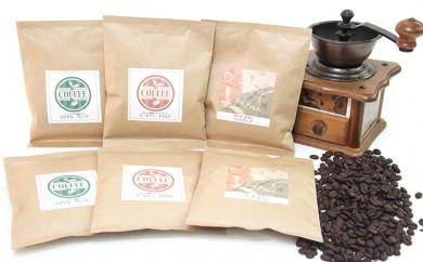 [№5653-0241]コーヒーマイスターが監修した新鮮珈琲詰合せ(豆)