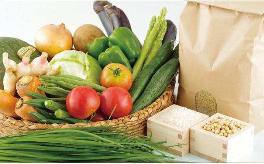 L571 お米と季節野菜のおまかせセット【400pt】