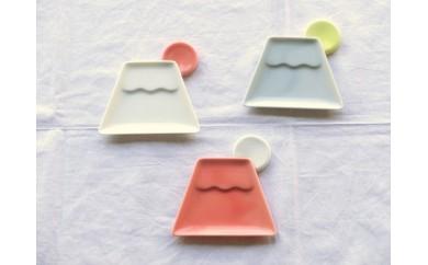 fuji 醤油小皿&箸置き3色セット