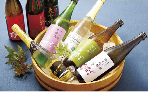 L506 冷やして美味しい日本酒頒布会【1,200pt】