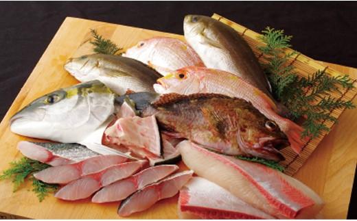 J665 五島列島旬の地魚大漁セットA【700pt】
