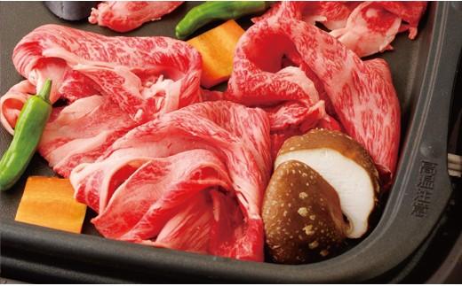 K546 長崎和牛肩ロース肉すき焼き・鉄板焼き用【800pt】