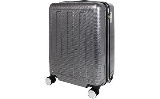 P571 8016スーツケース(カーボンブラック)【600pt】