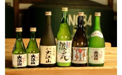 【新酒まつり】能登の地酒「大江山」生原酒から大吟醸まで6本セット