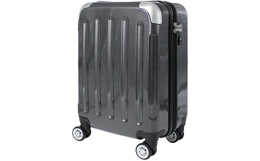 P575 6262スーツケース(カーボンブラック)【400pt】