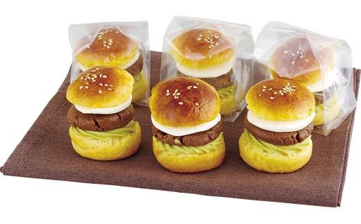 ♥佐世保バーガーを本物そっくりに模した可愛らしいSASEBOスイーツ♥