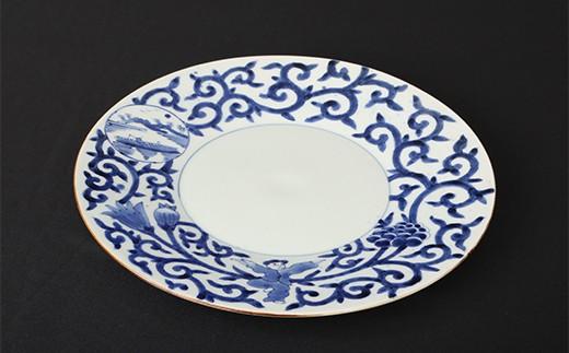 BH011 有田焼『福泉窯』9寸プレート皿