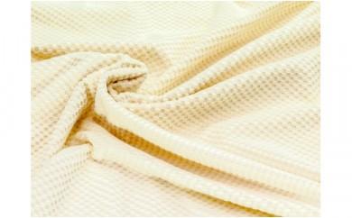 シール織綿毛布(市松) 軽い 野上織物株式会社