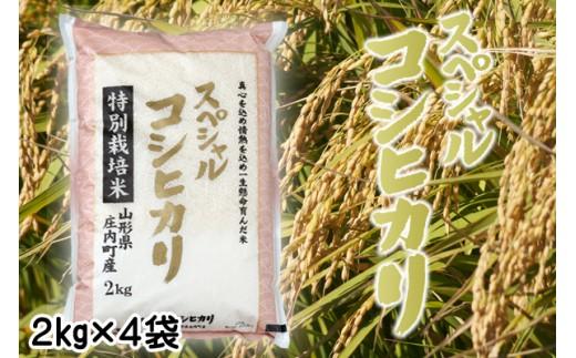【B-008】山形セレクション認定「スペシャルコシヒカリ」8kg
