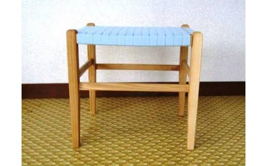 70-(3)家具工房ALKU「Aスツール01【タモ№1】」
