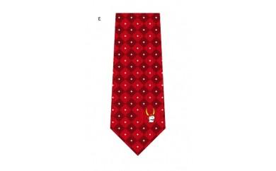 ひこにゃんのジャガード織ネクタイ(飛跳ね)