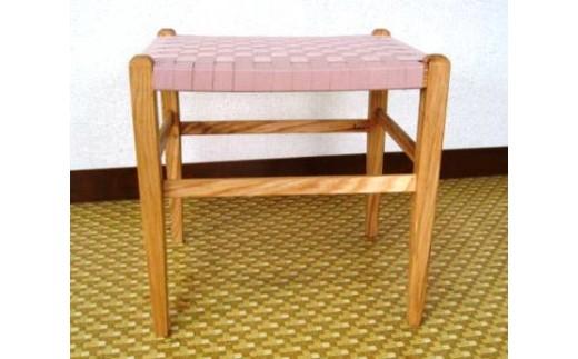 70-(5)家具工房ALKU「Aスツール01【タモ№3】」