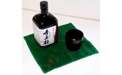 鎌倉酒販協同組合「本格芋焼酎 吾妻鏡と鎌倉彫ぐいのみ セット」