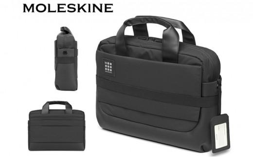 [№5809-2249]モレスキン MOLESKINE ID ブリーフケース ブラック ビジネスバッグ 鞄