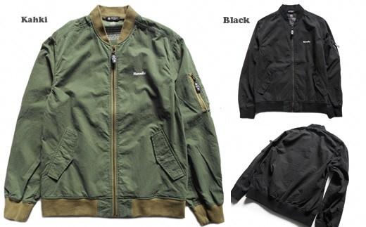 3-024 ライト MA-1 ジャケット