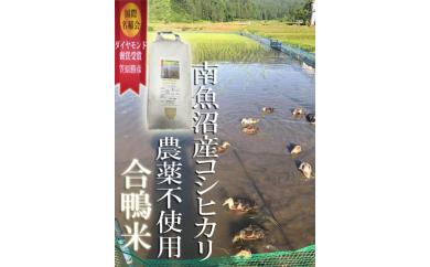 【29年産】南魚沼産笠原農園合鴨米5㎏