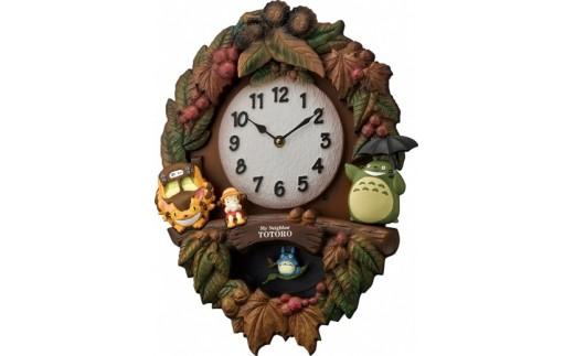(1349)トトロM429(飾り振子付掛時計)