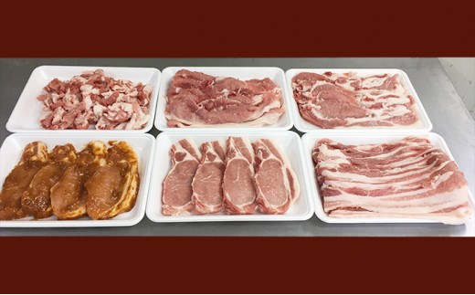 [№5862-0686]【5月申込限定!】絶品ハーブポーク肉汁したたる至福の6種盛