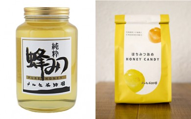[№5749-0251]ナルセ養蜂場 北海道産アカシア蜂蜜2kg ハチミツ飴付き