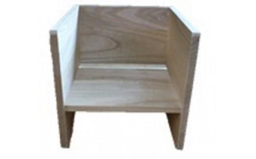F4-01.CHOCON(桐の子供椅子)