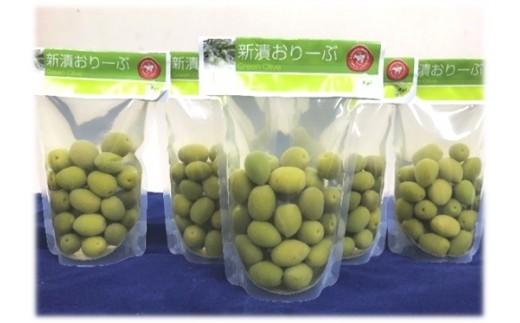 [№4631-1380]【数量限定】小豆島産 新漬おりーぶ100g×5袋