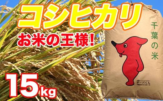 B)くるりのお米 こしひかり15㎏