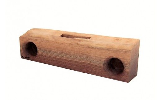 035-002 耳つき木製スピーカー「KIKOE」