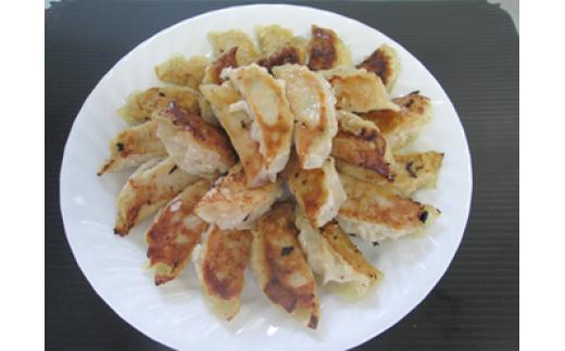 り-1 粗挽き鶏ねぎ餃子(大山どり100%使用)