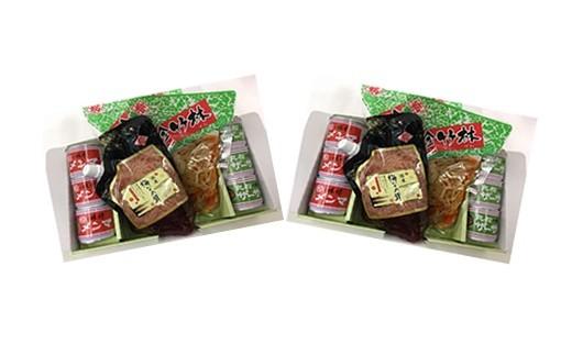 0090-006 珍竹林・豆缶・梅なめ茸セット×2セット
