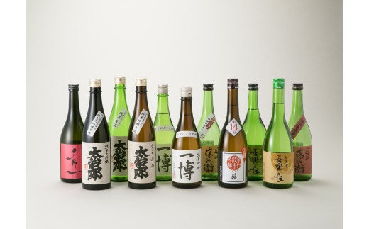 G10 東近江市の地酒 720ml11本セット〔髙島屋選定品〕