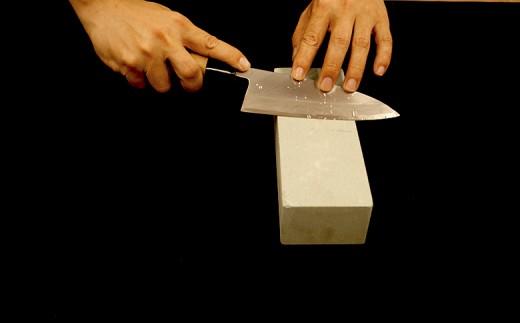 日本三大刃物【土佐打刃物】 出刃包丁(白紙2号、16.5cm)×砥石セット