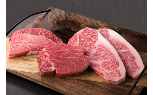 E-2【肉質日本一!】鳥取和牛プレミアムステーキセット