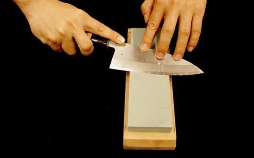 日本三大刃物土佐打ち刃物 出刃包丁×砥石セット小