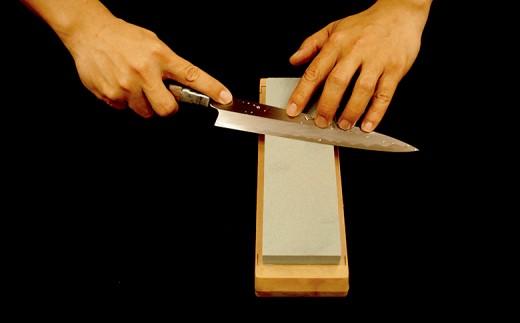日本三大刃物土佐打ち刃物 柳刃包丁×砥石セット小