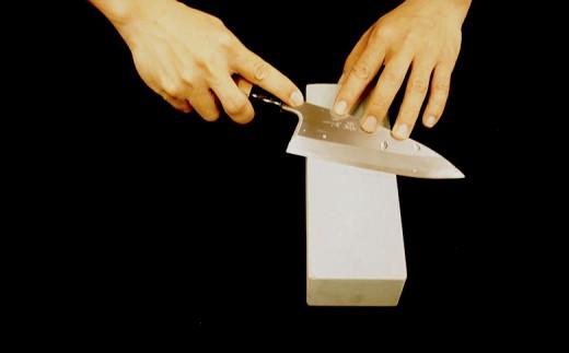 日本三大刃物【土佐打刃物】 出刃包丁(青紙2号、16.5cm)×砥石セット