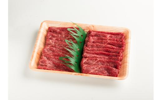 B-6【肉質日本一!】鳥取和牛赤身スライスすき焼き用