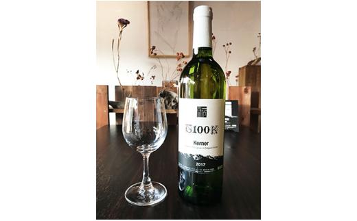 栃尾ワイン「T100K」750mlとオリジナルグラスのセット