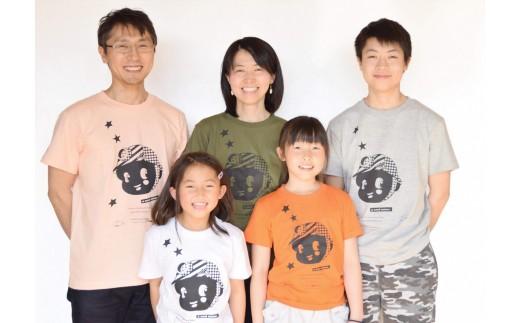 C2 夕張オリジナル手刷りTシャツ【a coal miner】(子ども用)