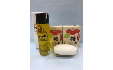 長崎椿オイル 全身使える優しい石鹸セット