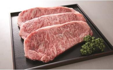 地域ブランド「かながわ牛」サーロインステーキ 200g×3枚