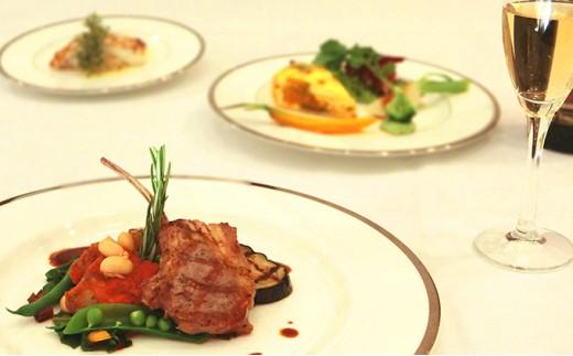 [№5706-0082]ホテルレオパレス仙台 ディナーペアお食事券「シェフズ」