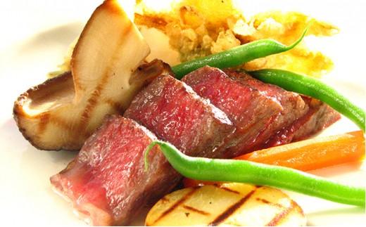 [№5706-0083]ホテルレオパレス仙台 ディナーペアお食事券「仙台牛を楽しむコース」