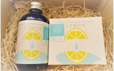 【月100限定】大本太和堂 omototaiwado レモン石鹸(洗顔ソープ)&ローションセット