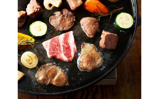 No.163 イベリコ豚骨付きステーキ&BBQセット 計約850g【4pt】
