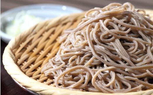 [L099-202001]自然豊かな南阿蘇の粗挽きそば10袋(20束)つゆ20食付き