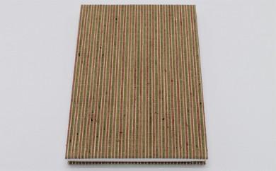 [№5802-0319]本場結城紬 集印帳 縞