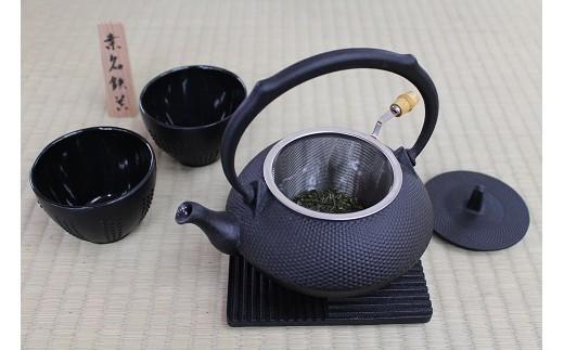 n_10 桑原鋳工 鋳物製茶器セット