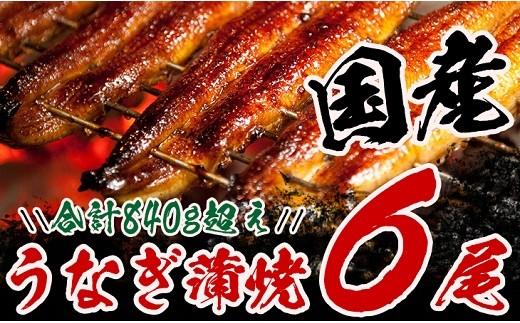 BC4 宮崎のうなぎ蒲焼(長焼6尾入)
